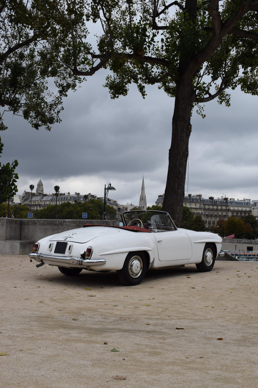 Automobiles sur les champs 11 sale n 3243 lot n 8 for 1956 mercedes benz 190sl
