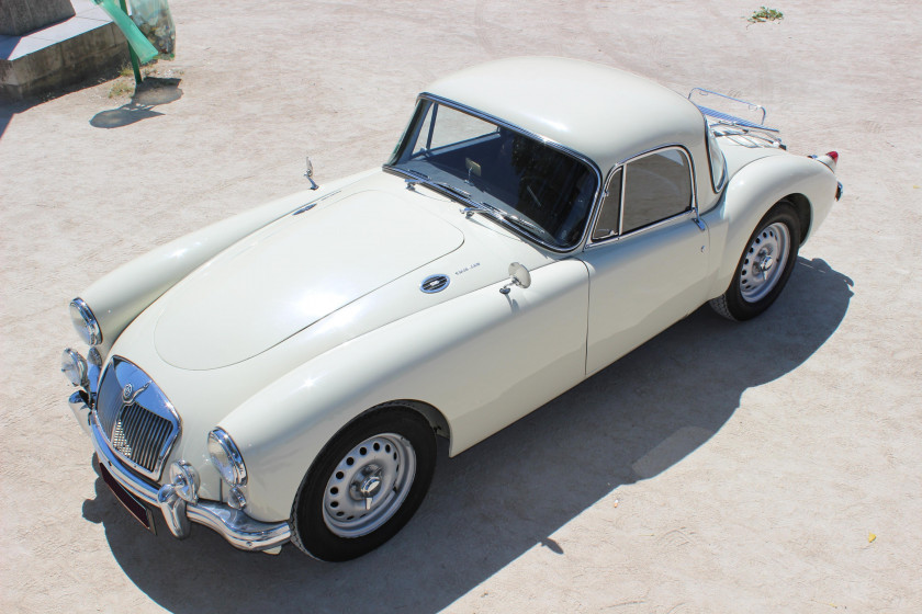 1959 MG A Coupé Twin Cam