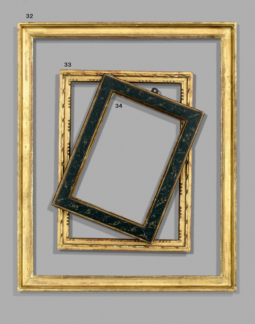Pierre berndt une vie de passion pour le cadre ancien et le bois dor vente n 3315 lot n - Moulure bois pour cadre ...