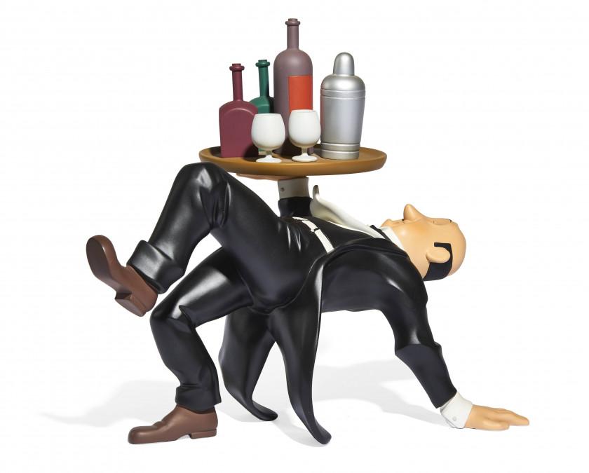 Nestor Vis Fauteuil.The World Of Herge Tintin S Creator Sale N 3313 Lot N 100