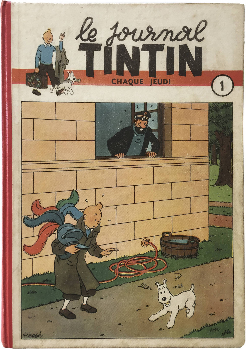 LE JOURNAL DE TINTIN N°1