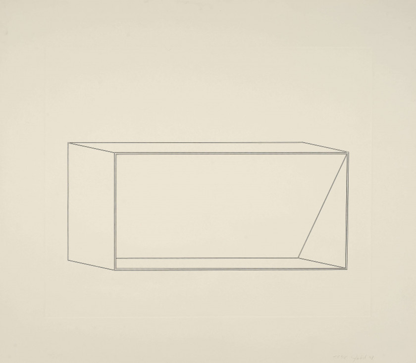 Donald JUDD (1928 - 1994) Untitled - 1977/78