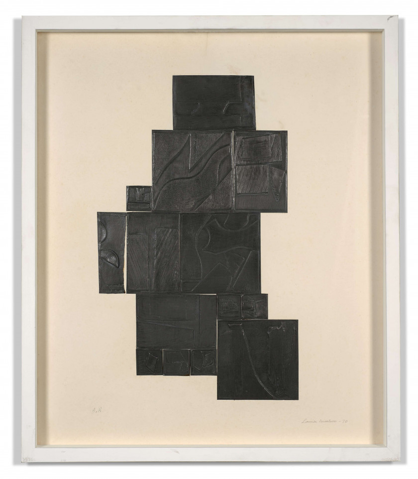 Louise NEVELSON (1899 - 1988) Night Tree - 1970