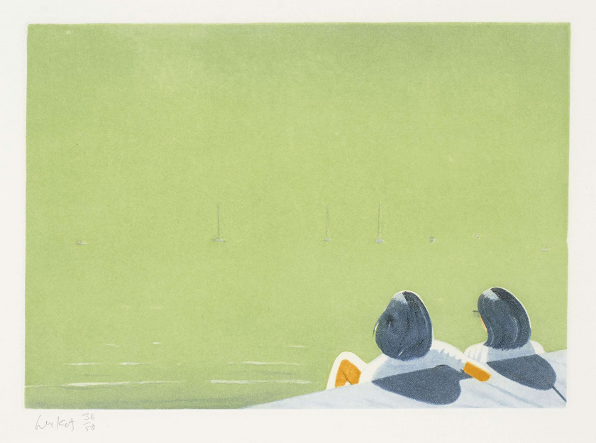 Alex KATZ (né en 1927) Harbor - 2006
