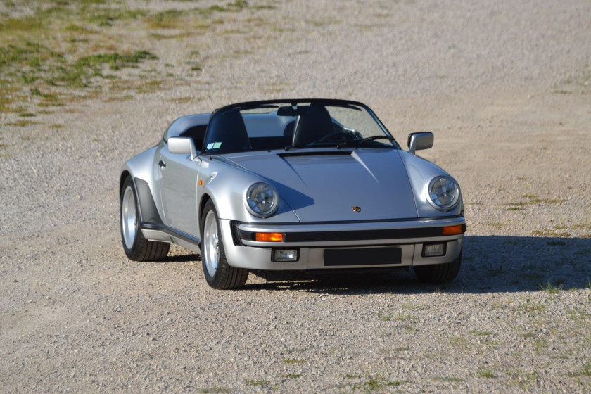 1989 Porsche 911 Speedster Turbo Look cabriolet