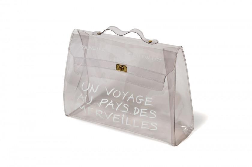 cdc21c926ea Sac en plastique blanc figurant un sac