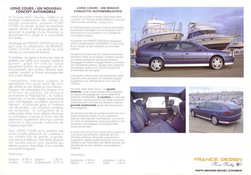 "1994 RENAULT SAFRANE V6 TURBO IE ""LONG COURS"" - no reserve"
