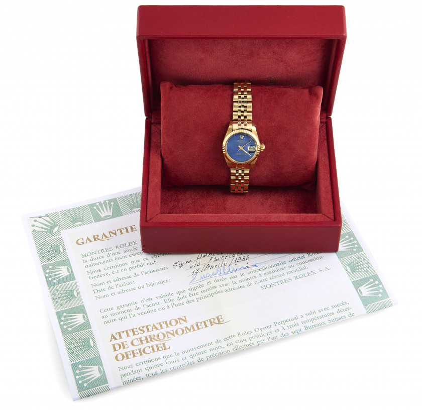 ROLEX  Lady Datejust, ref. 6917/8, n° 6067634