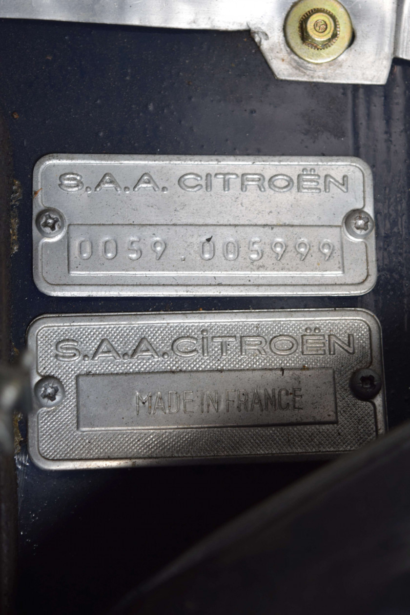 1972 Citroën SM Carburateurs  No reserve