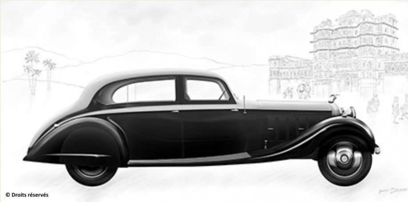1937 Hispano-Suiza J12 Gurney Nutting