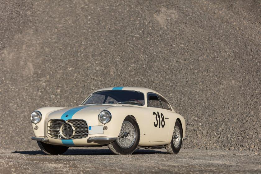 Incroyable 1955 Maserati A6G/2000 Berlinetta Allemano/Zagato ...