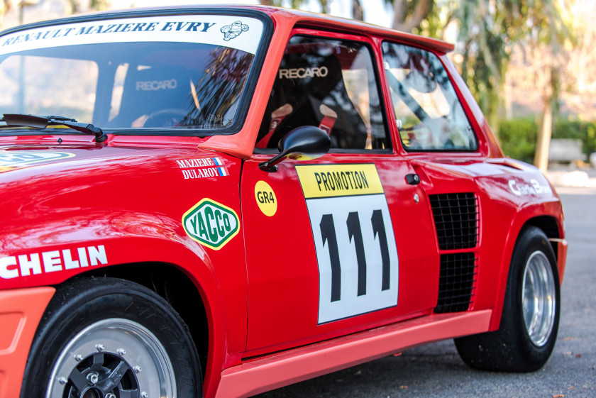 1980 Renault 5 Turbo Groupe 4