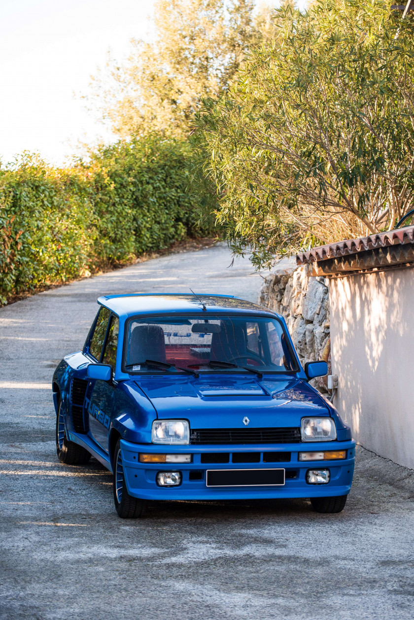 1982 Renault 5 Turbo  No reserve
