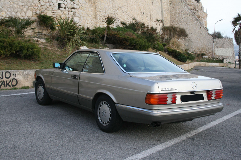 1986 Mercedes-Benz 560 SEC  No reserve