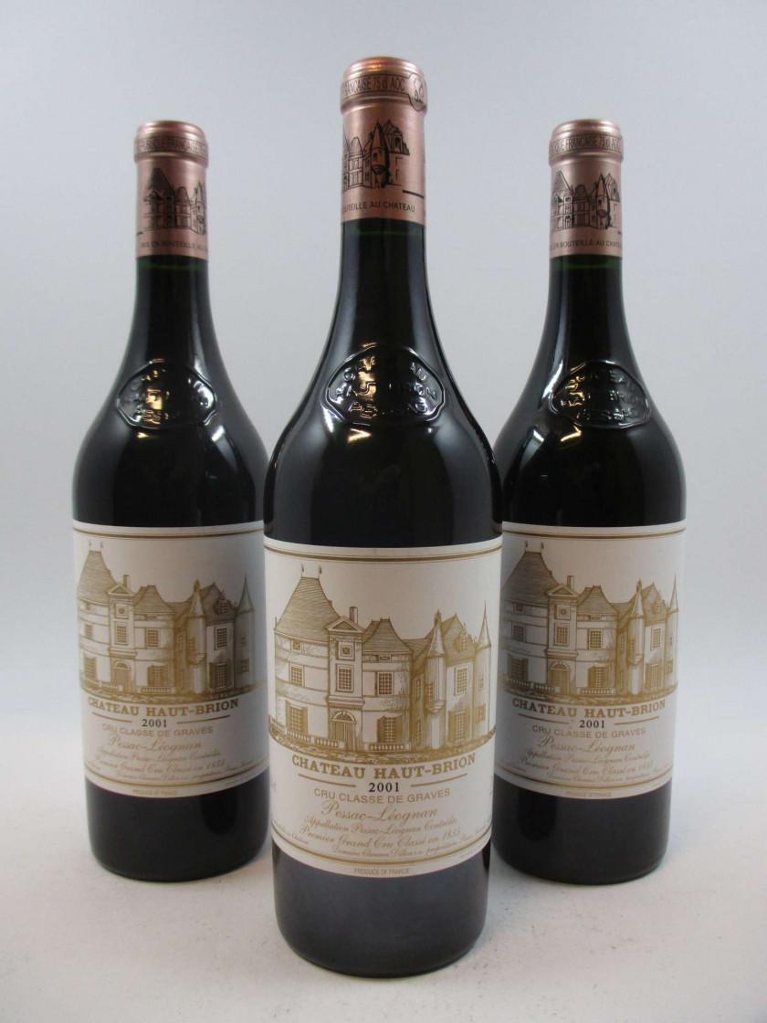 7 bouteilles CHÂTEAU HAUT BRION 2001 1er GC Pessac Léognan (Cave 11) 89479fe6afa9