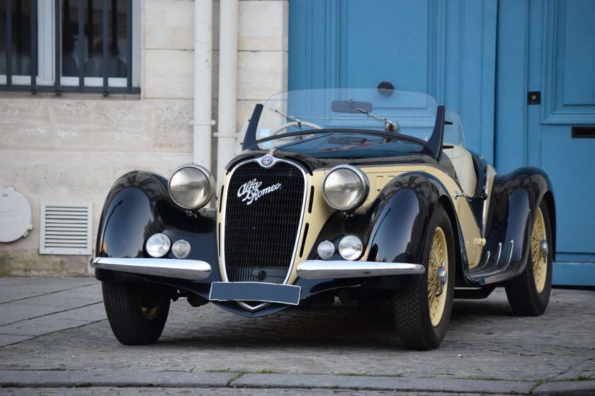 1939年アルファロメオ 6C 2500 SS スパイダー