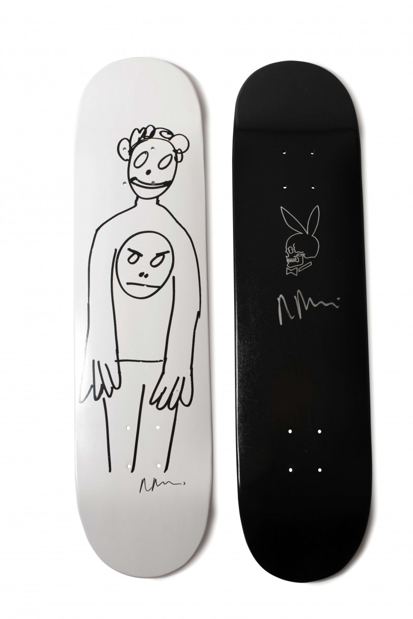 Supreme x Richard PRINCE  Set de 2 planches de skateboard - 2007