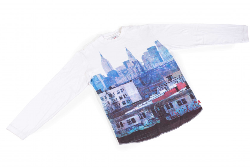 "Supreme x Martha COOPER  Tee-shirt ""New York picture"" - 2004"