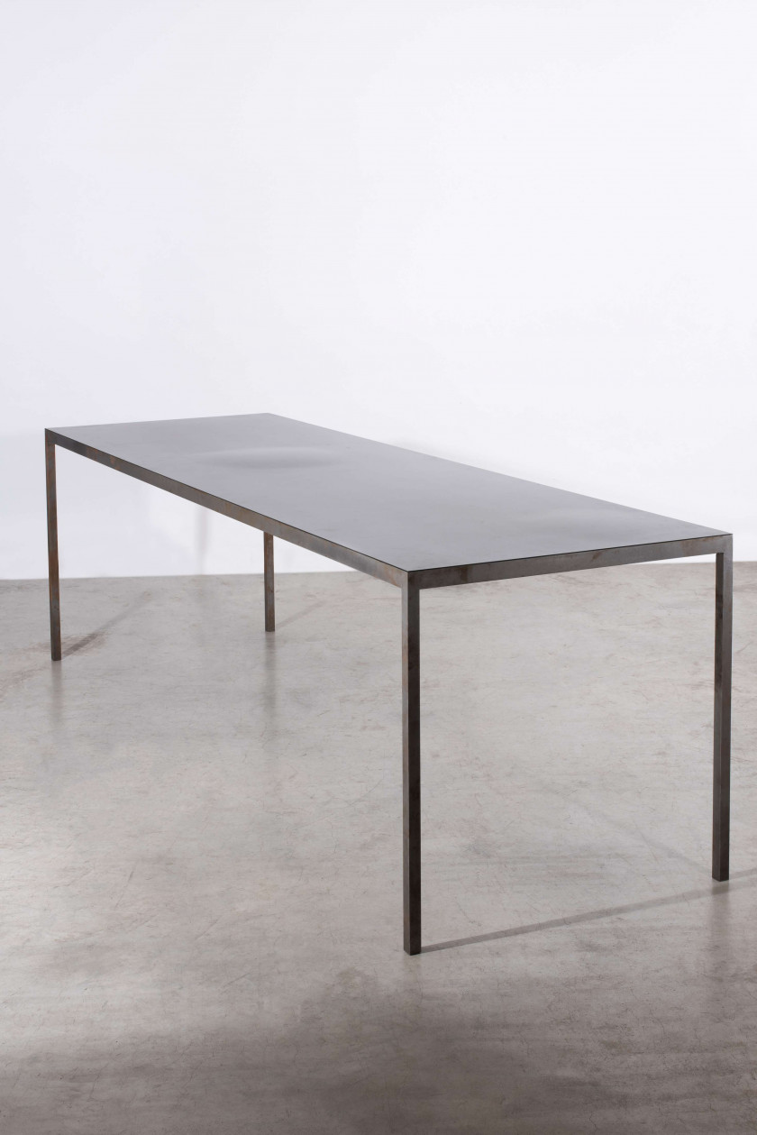 Table Acier Brut en ce qui concerne design | sale n°3789 | lot n°93 | artcurial