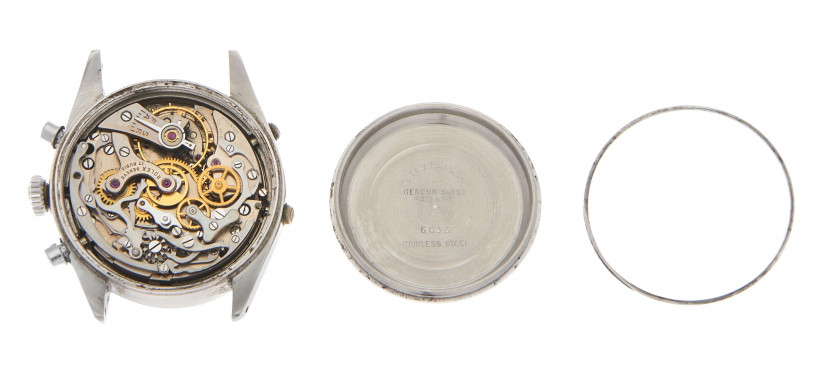 "ROLEX  ""Anti-magnétique"" Dato-Compax dit ""Jean-Claude Killy"", ref. 6036, n° n° 917874"