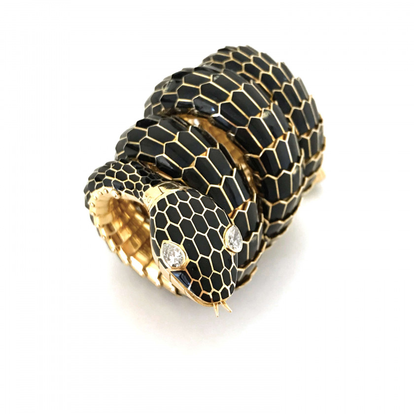 "BULGARI  Serpenti ""Black Mamba"", n° 1279392"