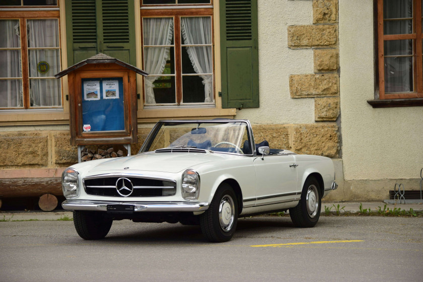 ¤ 1968 Mercedes-Benz 280 SL avec Hard-Top  No reserve