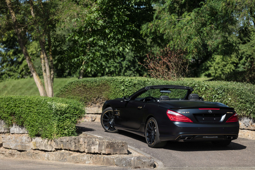 2015 Mercedes-Benz SL 63 AMG World Championship Collector's Hamilton Edition #19