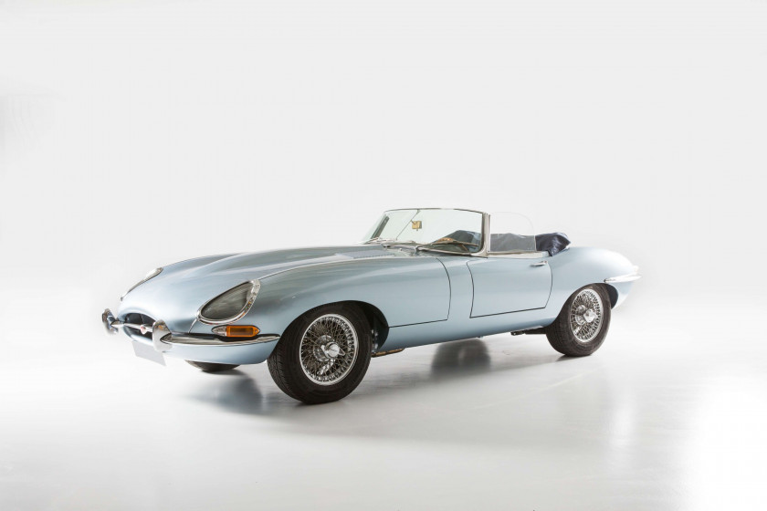 1961 Jaguar Type E Série 1 3,8L Roadster flat-floor