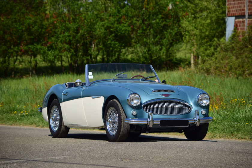 1962 Austin Healey 3000 MKII BT7  No reserve