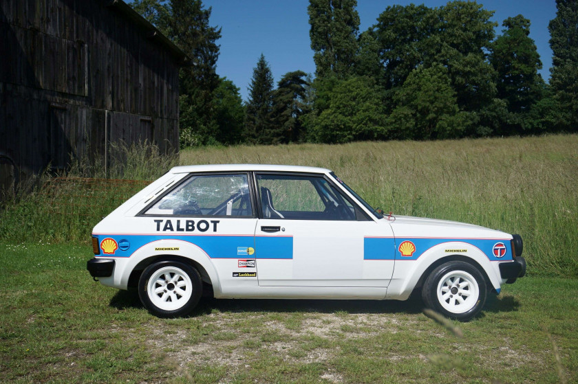 1979 Talbot Sunbeam Lotus  No reserve