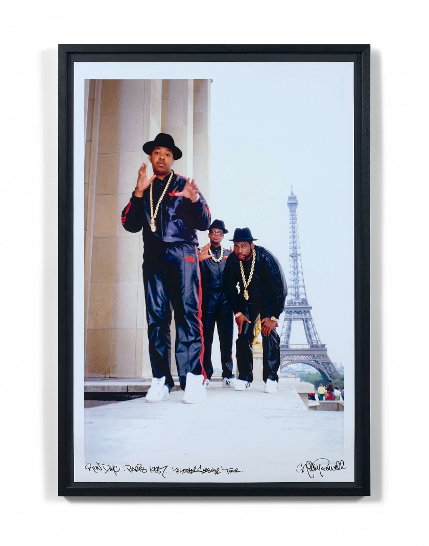 2236f8f1abfa Ricky Powell (Américain - Né en 1961) Run DMC Paris 1987 Trocadero Together  Forever