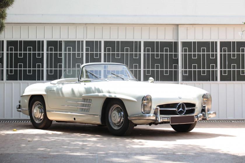 ¤ 1957 Mercedes-Benz 300 SL roadster