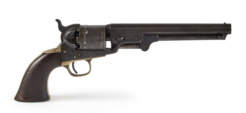 REVOLVER COLT - MODELE 1851 NAVY A percussion. 6 coups