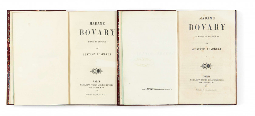 Gustave FLAUBERT 1821-1880 Madame Bovary