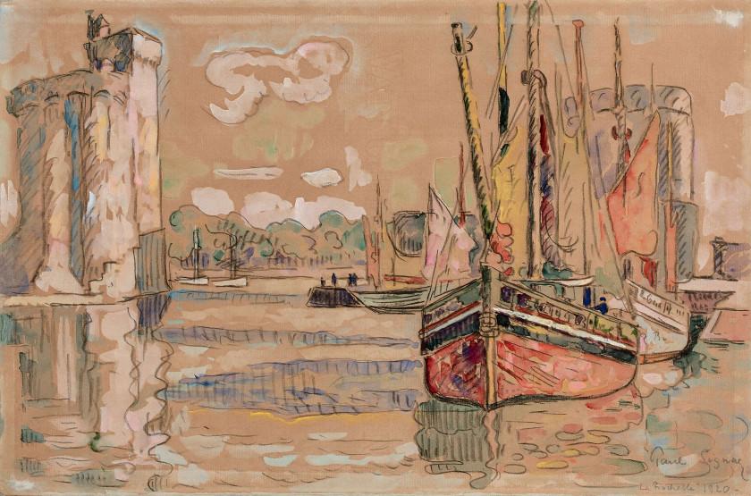 Paul SIGNAC 1863 - 1935 La Rochelle - 1920