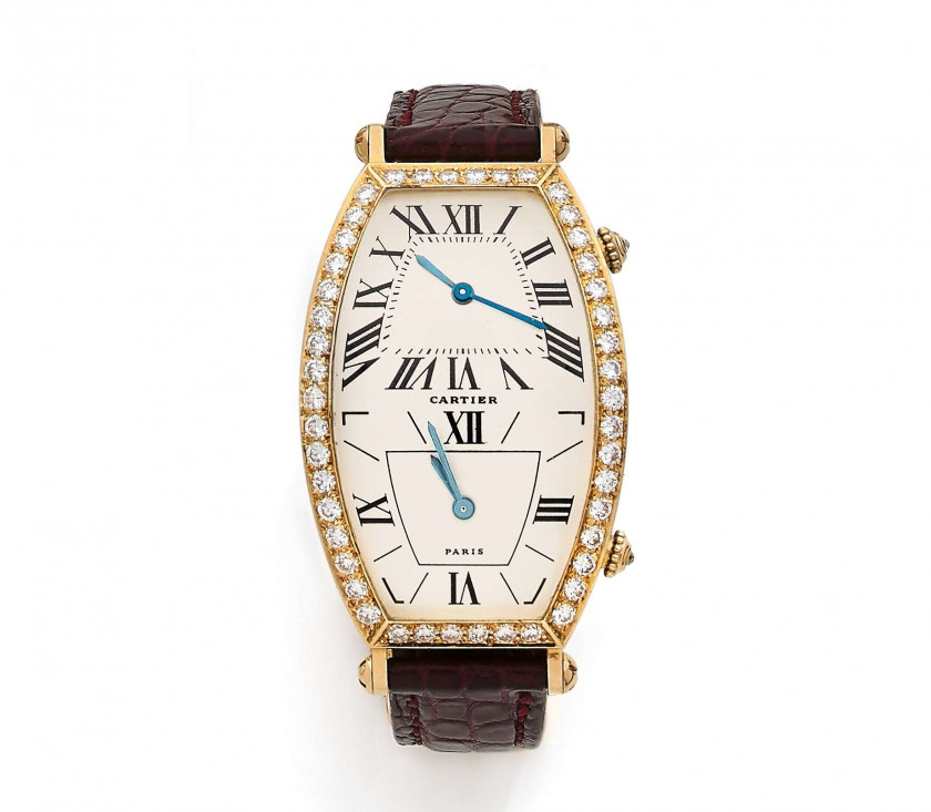 CARTIER  Dual Time, n°A114971