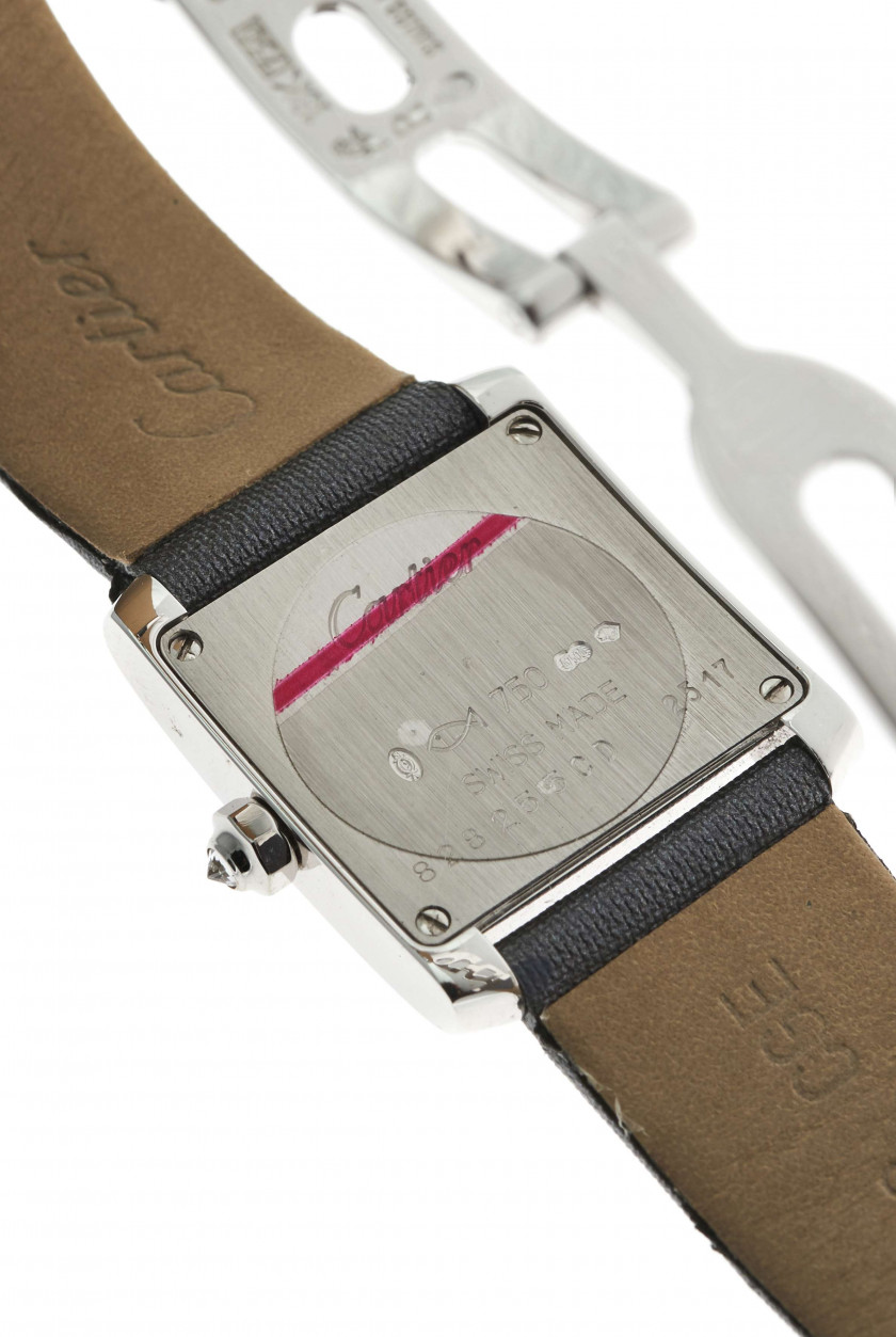 "CARTIER  Tank Anglaise ""Mini"", ref. 2517, n° 828255CD"
