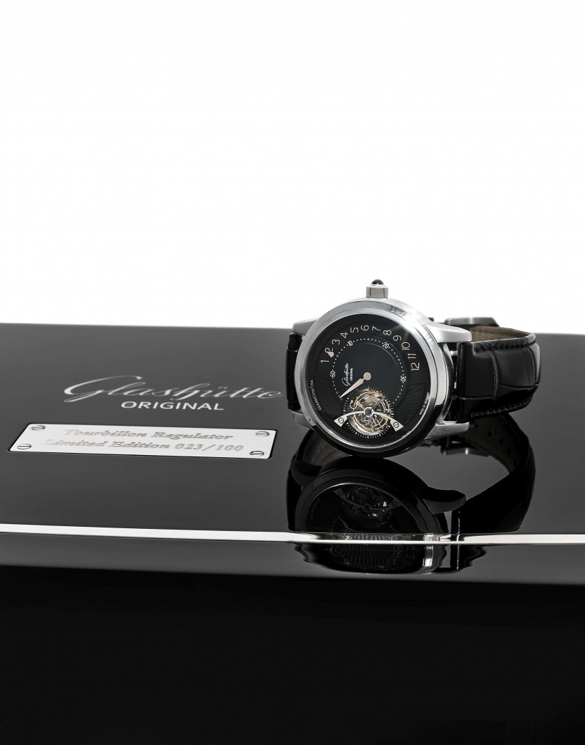 GLASHÜTTE ORIGINAL  Tourbillon Regulator, n° 023/100