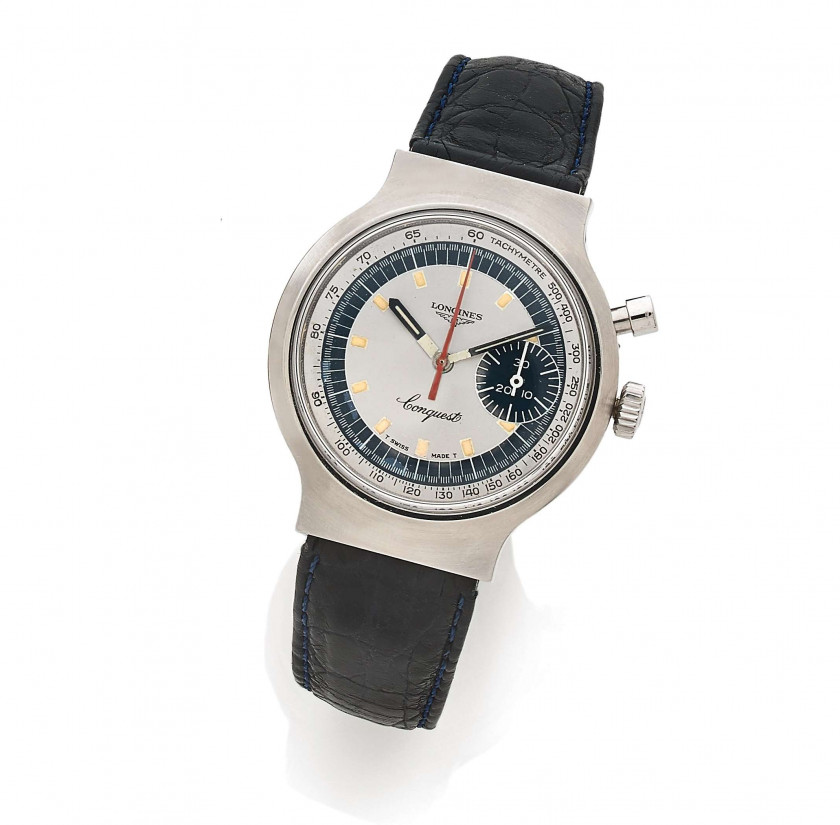 "LONGINES  Conquest ""Olympic Games Munich 1972"", ref. 8614.1, n° 58854965 / 174357"