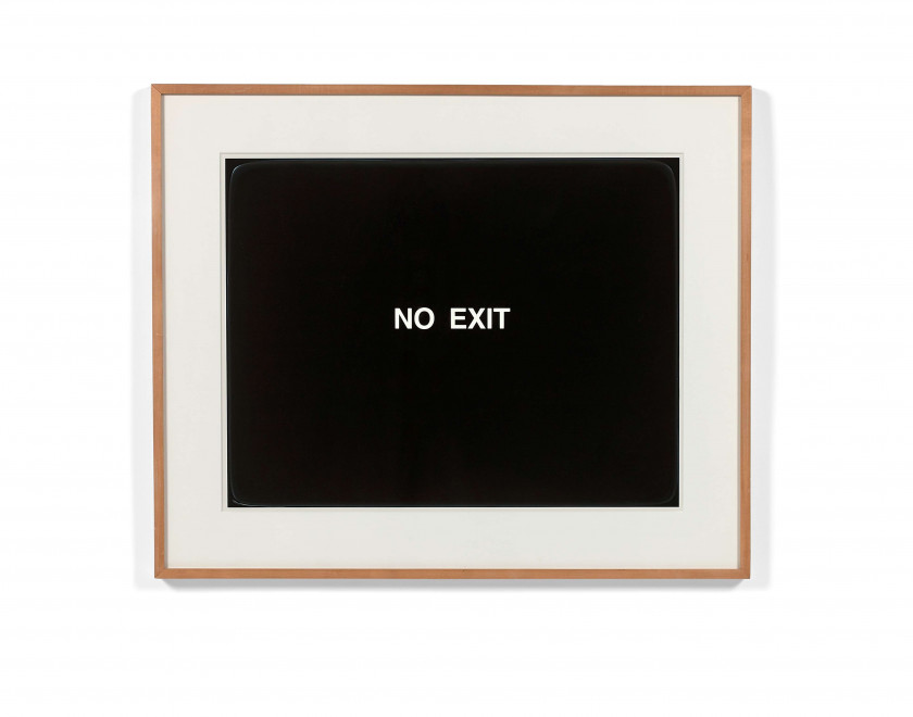 Peter HALLEY (Né en 1953) No exit / Way out - 1988
