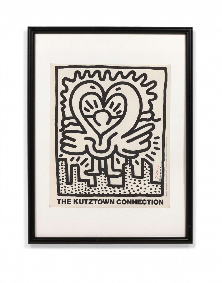 Keith HARING 1958 - 1990 The kutztown connection - 1984