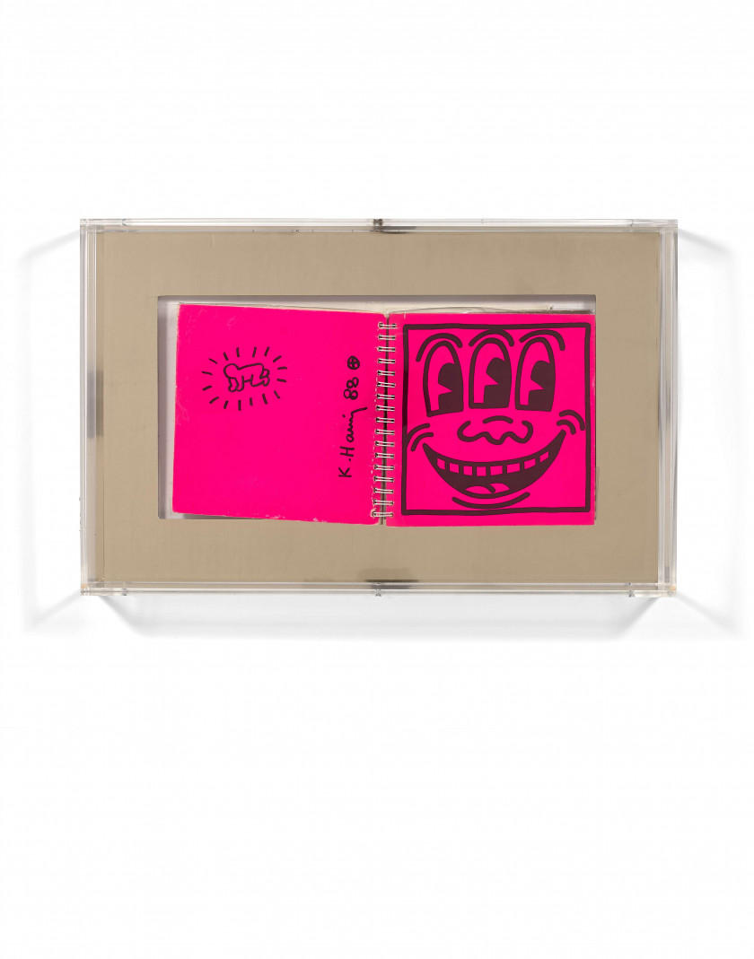 Keith HARING 1958 - 1990 Catalogue d'exposition