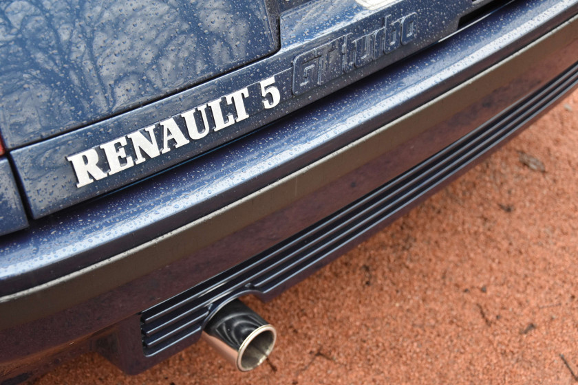 "1990 Renault Super 5 GT Turbo ""Alain Oreille"" series  No reserve"