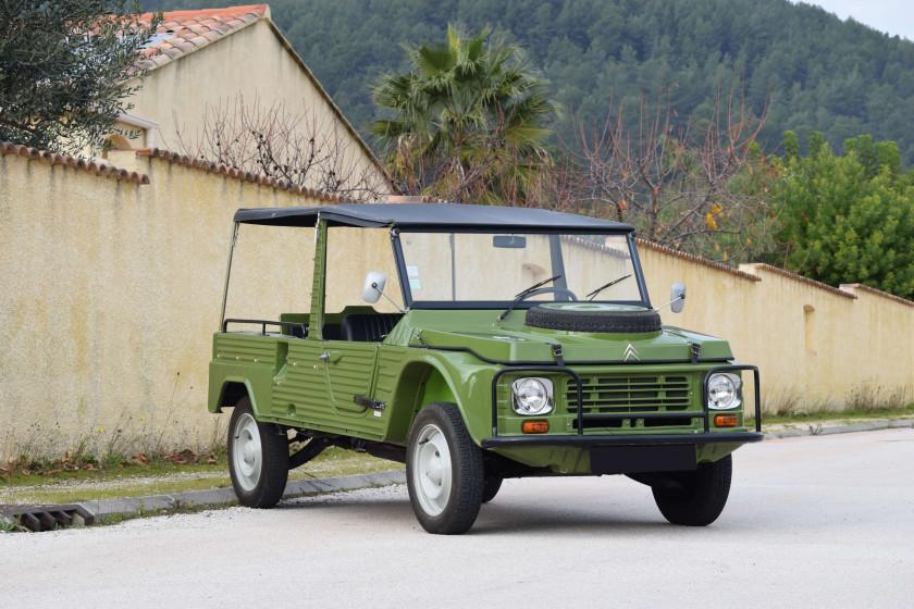 1980 シトロエン メハリ 4x4