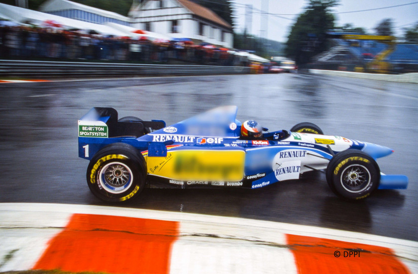 MICHAEL SCHUMACHER  Benetton - Saison 1995