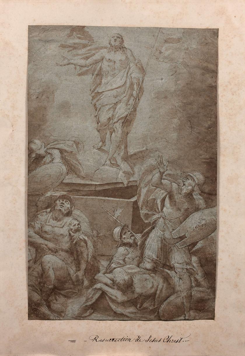 Ecole italienne du XVIe siècle La Résurrection