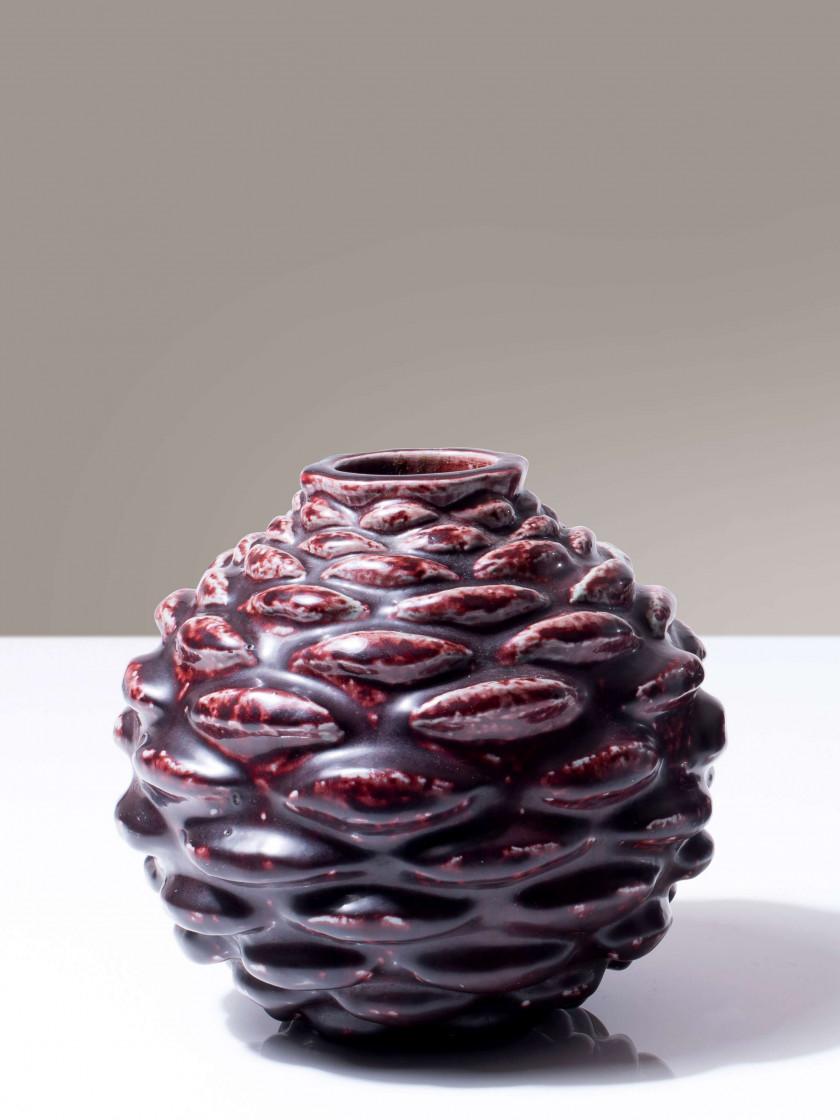 Axel SALTO (1889 - 1961) Vase mod. 21330- Création 1954