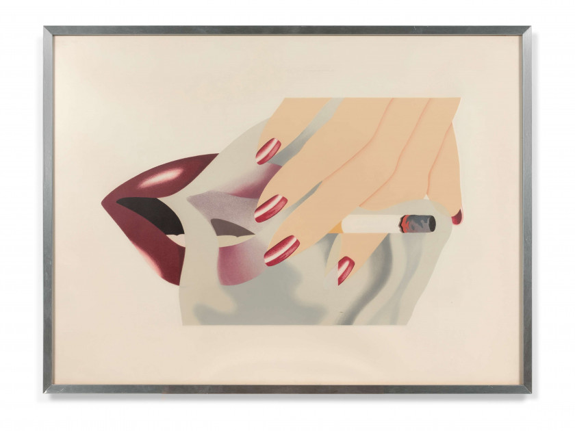 Tom WESSELMANN (1931 - 2004) Smoker - 1976