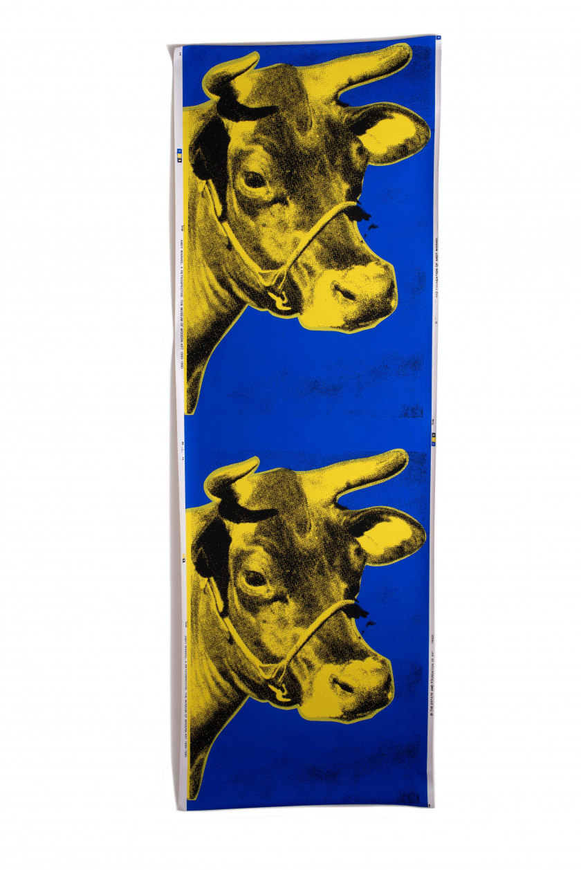 Andy WARHOL (1928 - 1987) Double Cow - 1989