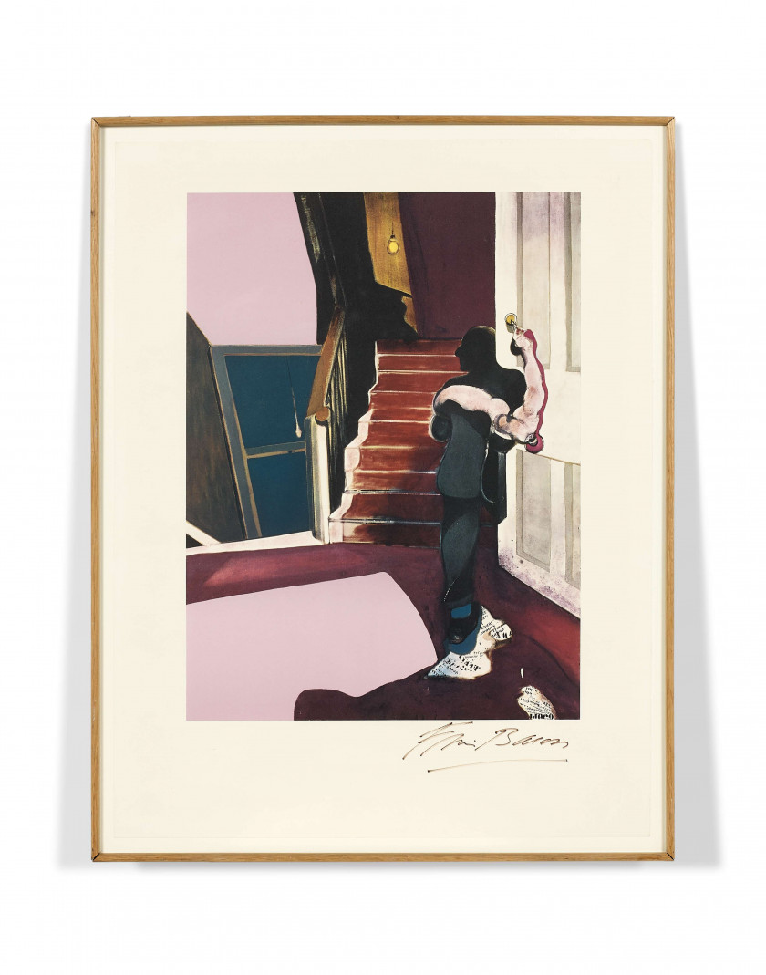 Francis BACON (1909-1992) In memory of George Dyer - 1976